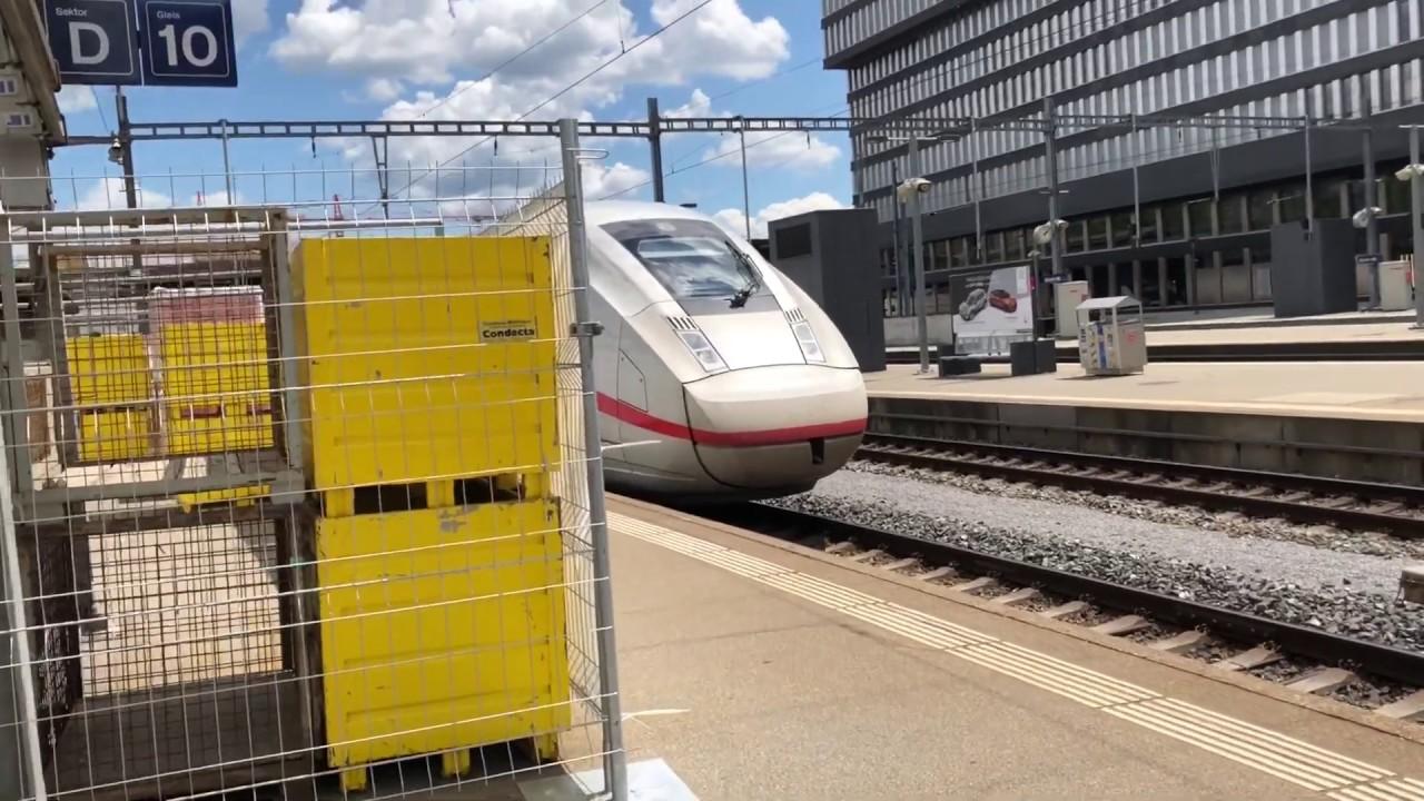 High Speed Train At Zurich HB Train Station 2 Editorial