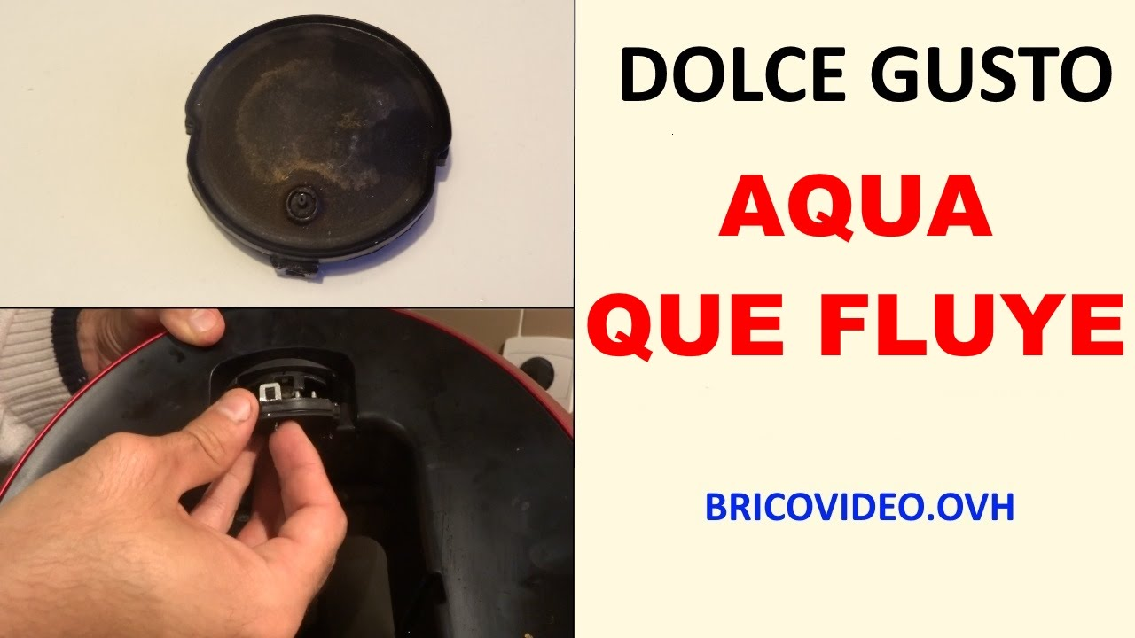 dolce gusto fuga de agua agua que fluye youtube. Black Bedroom Furniture Sets. Home Design Ideas