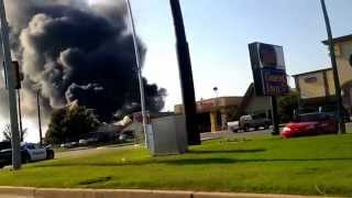 Hibdon Tires Plus on Fire - Norman, OK 2013
