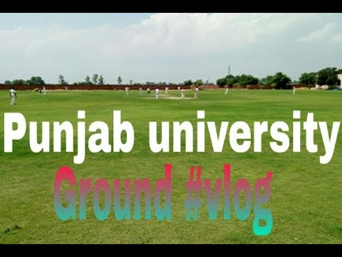 Punjab university of Pakistan Lahore ground vlog Ali bhai creation