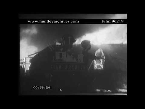 Attack on Tan Son Nhut airbase, 1968.  Archive film 96219
