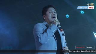 Ngasidi ei - 🎤 Ranbir Thouna with Blue Band | Manipur Sangai Festival 2017