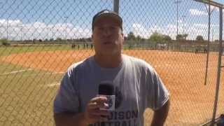 Mike Bridge Talks Madison College Softball