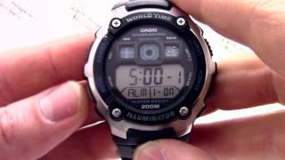 Годинник Casio Illuminator AE-2000W-1A - Інструкція, як налаштувати від PresidentWatches.Ru