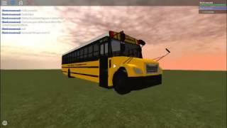Thomas Saf T Liner C2 School Bus| Roblox Bus Review