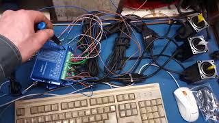 подключение гибридных шаговиков и индуктивных датчиков