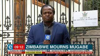 Zimbabwe mourns Mugabe