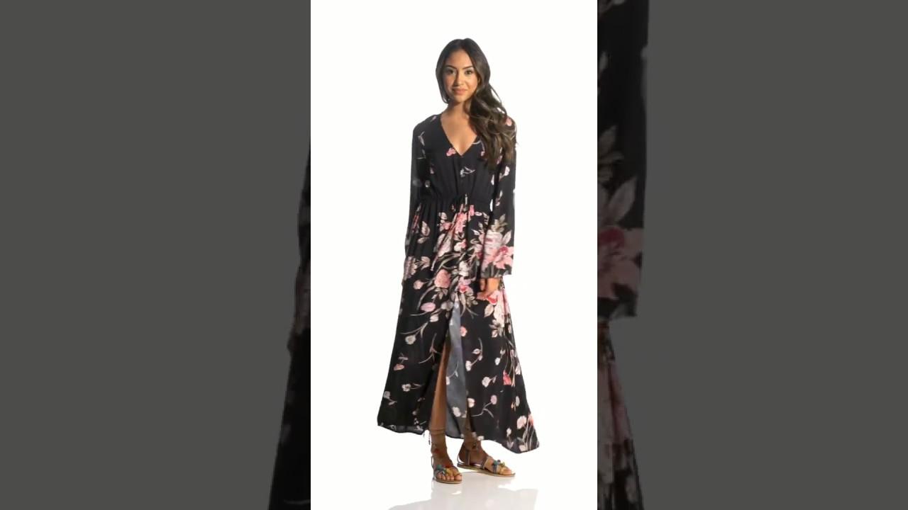 9e9aa827db0 Billabong Women s Desi Kimono Dress
