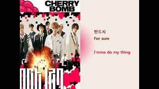 NCT 127 - Cherry Bomb Lyrics Video for Korean Learners Mp3