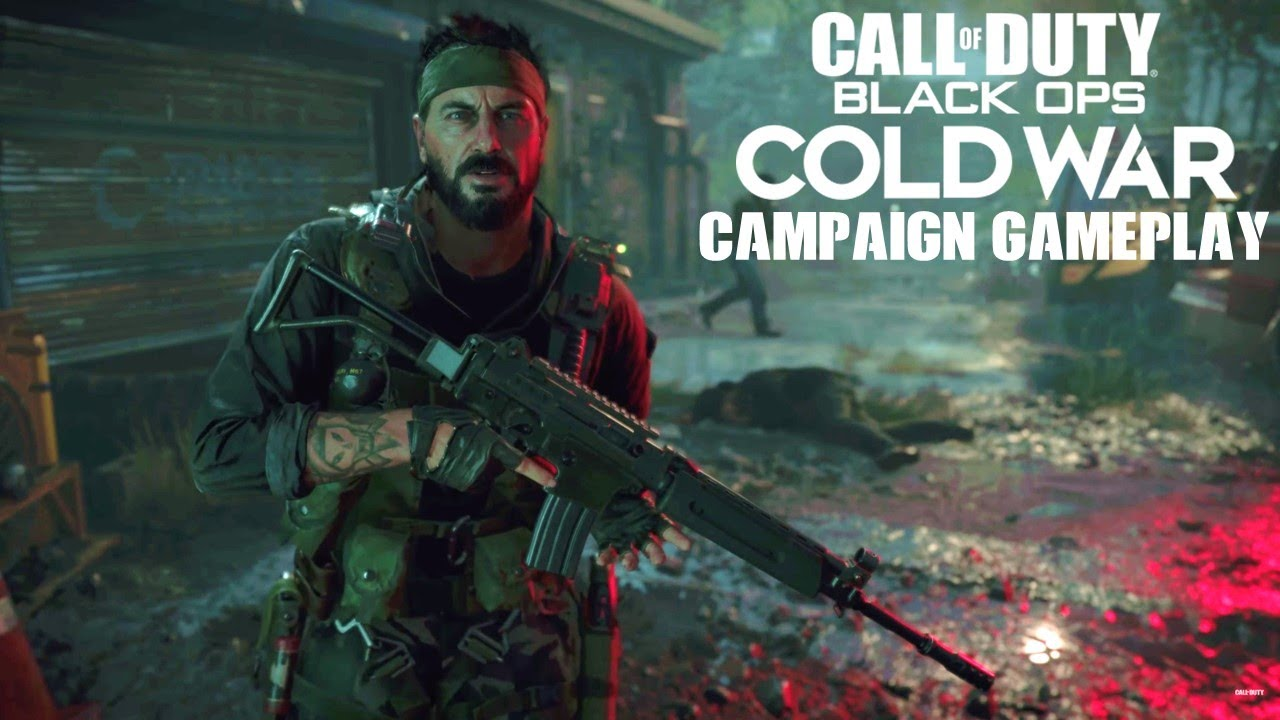 Call of Duty Black Ops Cold War Single Player Gameplay & ALPHA info -  YouTube