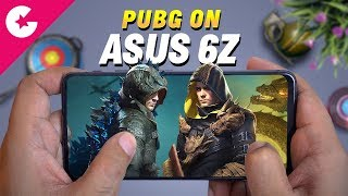 PUBG On Asus 6Z - Gaming Review (Heat Test)