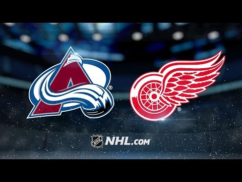Tatar scores two in Red Wings' 5-1 win vs. Avalanche