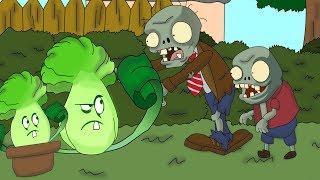 Plants vs. Zombies ANIMATION Bonk Choy LIFE (Cartoon)