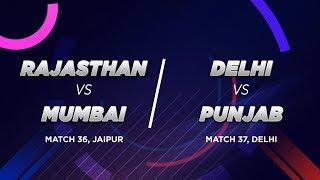 Cricbuzz LIVE: Rajasthan v Mumbai, Delhi v Punjab