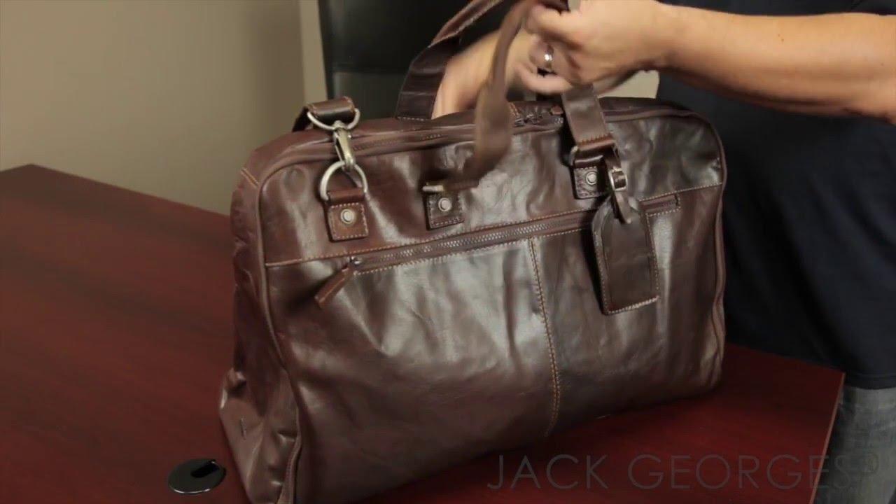 cec31b8f7 Voyager Large Convertible Valet Bag #7550 - Jack Georges