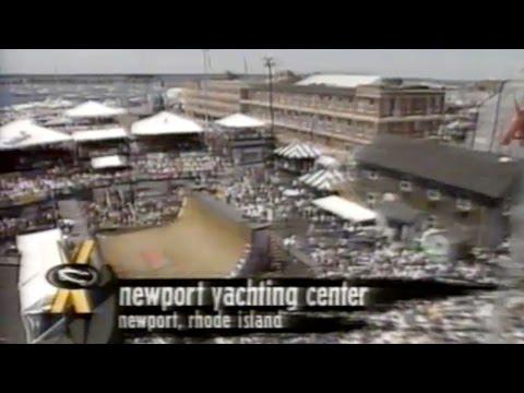 XGames Newport 1996 - Half Pipe Vert Finals