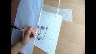 Time Lapse Drawing: Olly Murs