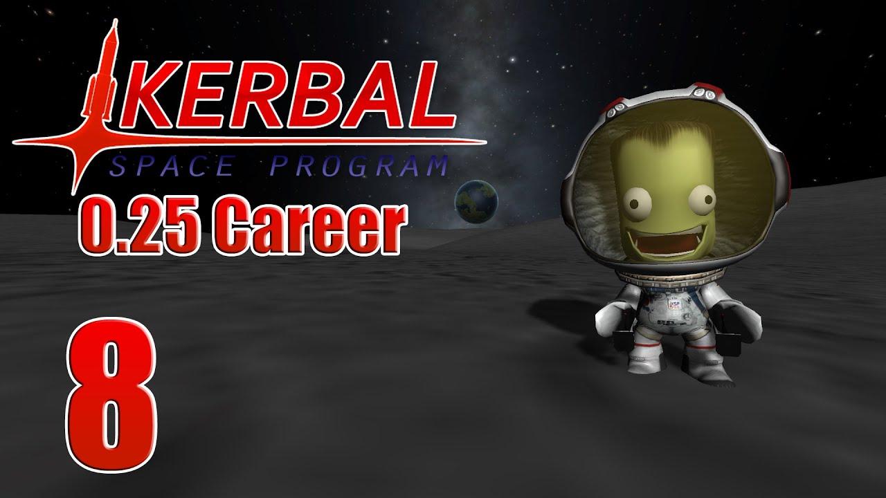how to play kerbal space program career
