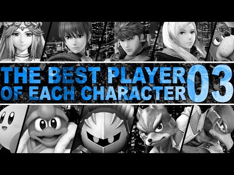 The Best Player Of Each Character In Smash 4 - Part 3 - ZeRo
