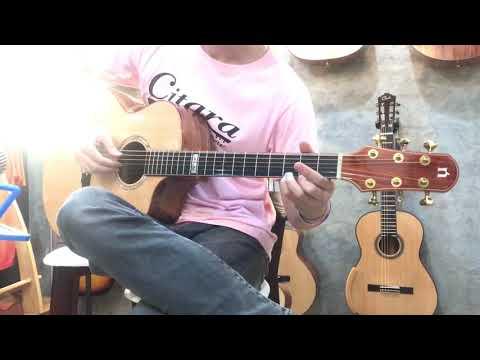 Top Of The World' Natasha Guitar JC4 Review By Citara House Of Guitar