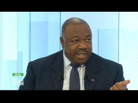 Le Président Ali BONGO ONDIMBA face à la Nation GABONAISE