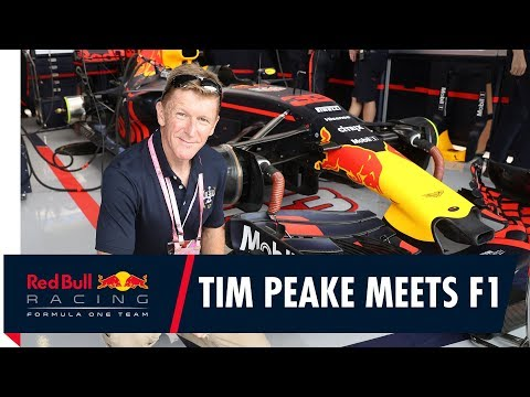 ESA Astronaut Tim Peake Takes on Red Bull Racing's F1 Simulator