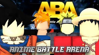 ¡Nuevo! Juego de Anime Battle Arena (Anime Battle Arena Game) Es SICK!!! | Roblox