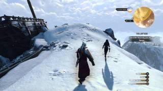 The Witcher 3 - The Last Wish: Search Ship: Geralt Broken Arm (Right Arm Stiff) Glitch Gameplay PS4