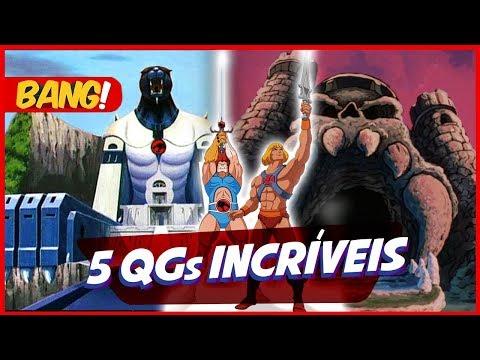 5 QGs DOS SUPER-HERÓIS DA TV | Programa Bang
