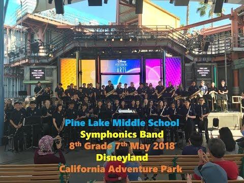 Pine Lake Middle School Symphonic Band 7 May 2018