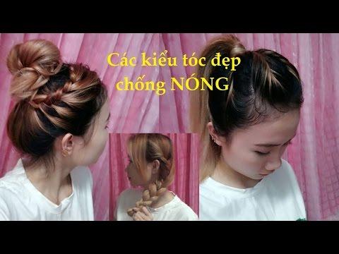 Hairstyles - Tóc Đẹp Mỗi Ngày - 7 Kiểu Tóc Chống Nóng Mùa Hè