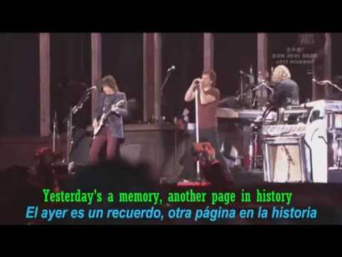 BON JOVI - Story Of My Life (lyrics - Letra // Subtitulado)