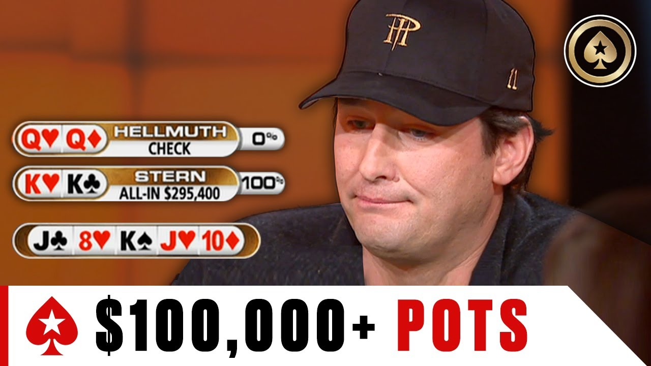 BIGGEST Pots: 6K?! ♠️ Best of The Big Game ♠️ PokerStars
