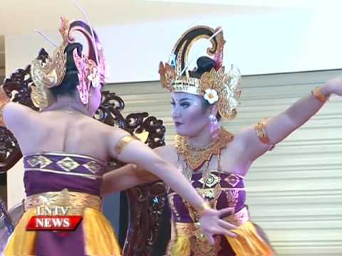 Lao NEWS on LNTV: The Wonderful Indonesia exhibition.30/5/2016