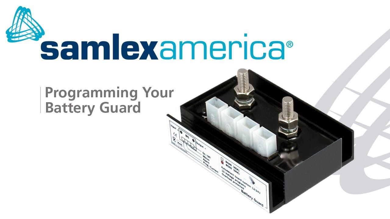 Samlex Solar BG-60 Battery Guard