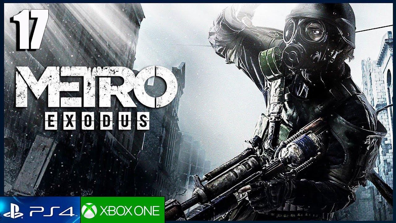 METRO EXODUS - Parte 17 Gameplay Español PS4 PRO | Capitulo 6 El mar Caspio | Walkthrough