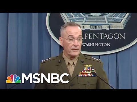 Niger Ambush: Pentagon Updates Why Americans Were In Africa | MTP Daily | MSNBC