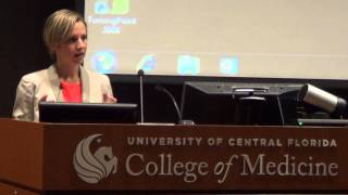 Dr. Samantha Nutt Speaks at UCF College of Medicine