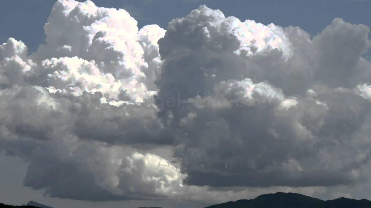 Cumulus Wolken Zeitraffer / cumulus clouds time-lapse ...