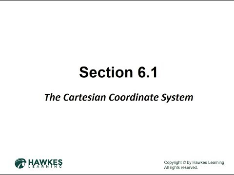 Hawkes 6.1 PP: Cartesian Coordinate System