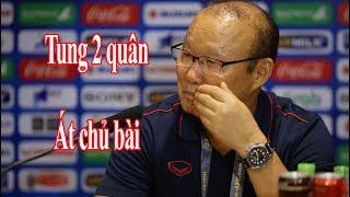 HLV Park Hang Seo: 'Tôi sẽ tung con bài quan trọng nhất ở trận gặp Indonesia' | Thể Thao 247