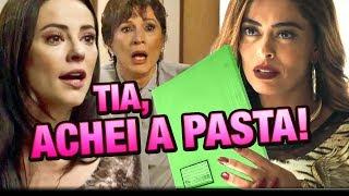 A Dona do Pedaço - Maria da Paz encontra Pasta Verde e chuta Fabiana da Fábrica de bolos!