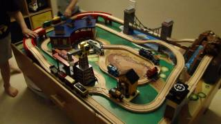 Kids Love Playing With Thomas And Friends With Imaginarium Train Table