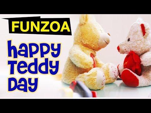 Happy Teddy Day Video Wish   Mimi Teddy   Bojo Teddy   Funzoa Teddy Videos