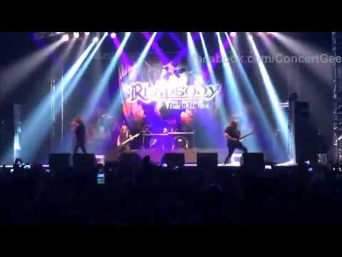 Rhapsody [HD Full Concert] @Bogotá 21 Jan 2018