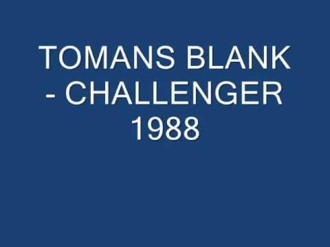 TOMANS BLANK   CHALLENGER 1988