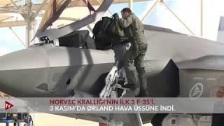 Norveç Krallığı'nın İlk F-35'i 3 Kasım'da Ørland Hava Üssüne İndi