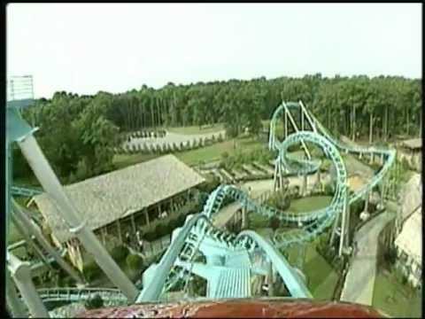 Drachen Fire At Busch Gardens Europe - YouTube