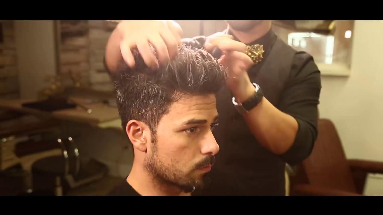Männer Haarstyling Frisur 2017 Perfekte Kurzhaar Styling Tips