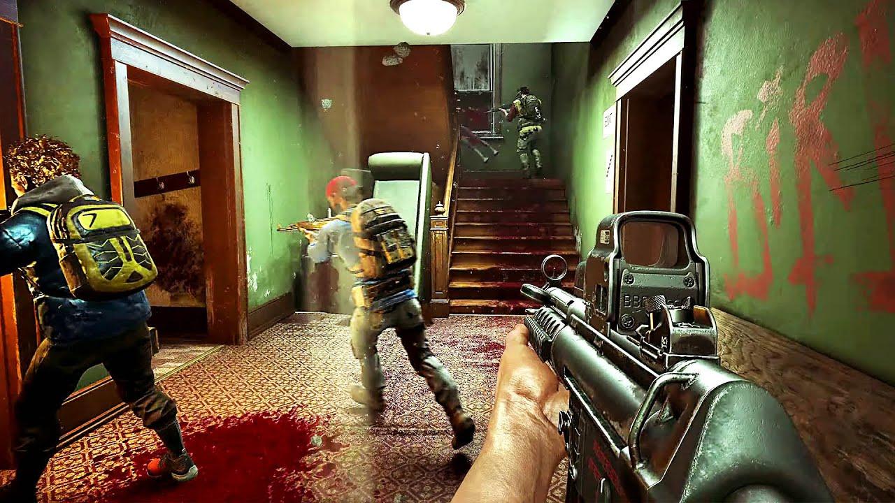 Back 4 Blood Gameplay 2021 4k Youtube